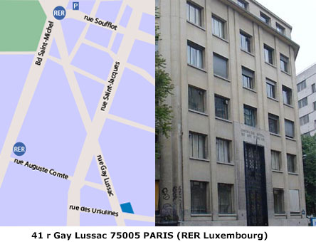 Paris 5e 41 rue Gay-Lussac